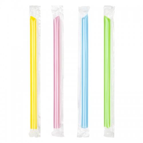 12mm PP Straws - 20cm Colour Wrapped (45 pcs)