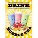 Bubble Tea Sunshine Poster (A2)