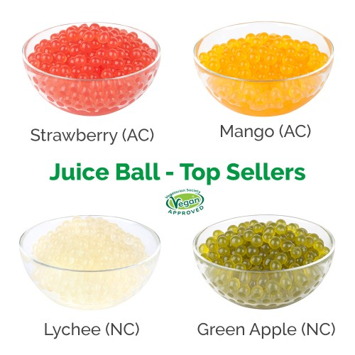 * Juice Balls - Top Sellers