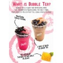 What Is Bubble Tea Poster (A2)