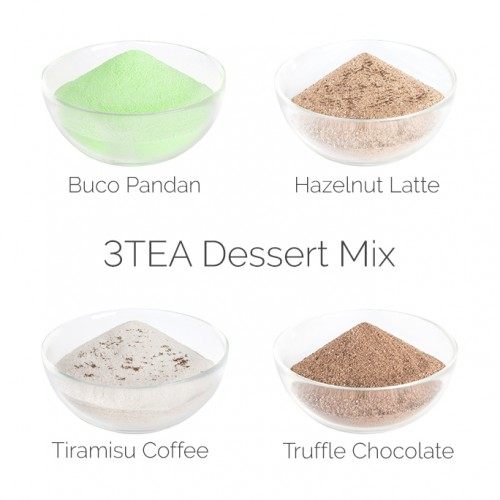 MIX - 3TEA Dessert (4x1kg bags)