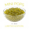 *Mini Pops* Green Apple Flavoured - 6-8mm Juice Balls (NC) (3.2kg tub)