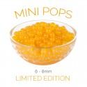 *Mini Pops* Peach Flavoured 6-8mm Juice Balls (NC) (3.2kg tub)