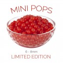 *Mini Pops* Cherry Flavoured 6-8mm Juice Balls (NC) (3.2kg tub)