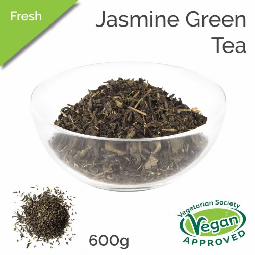 Fresh Tea - Jasmine Green Tea Leaf (600g bag)