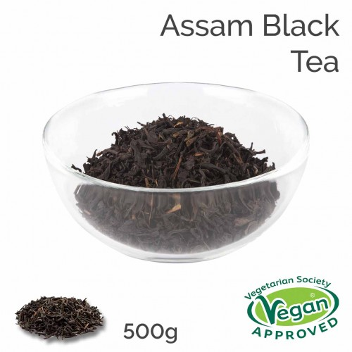 Assam Black Tea (500g bag)