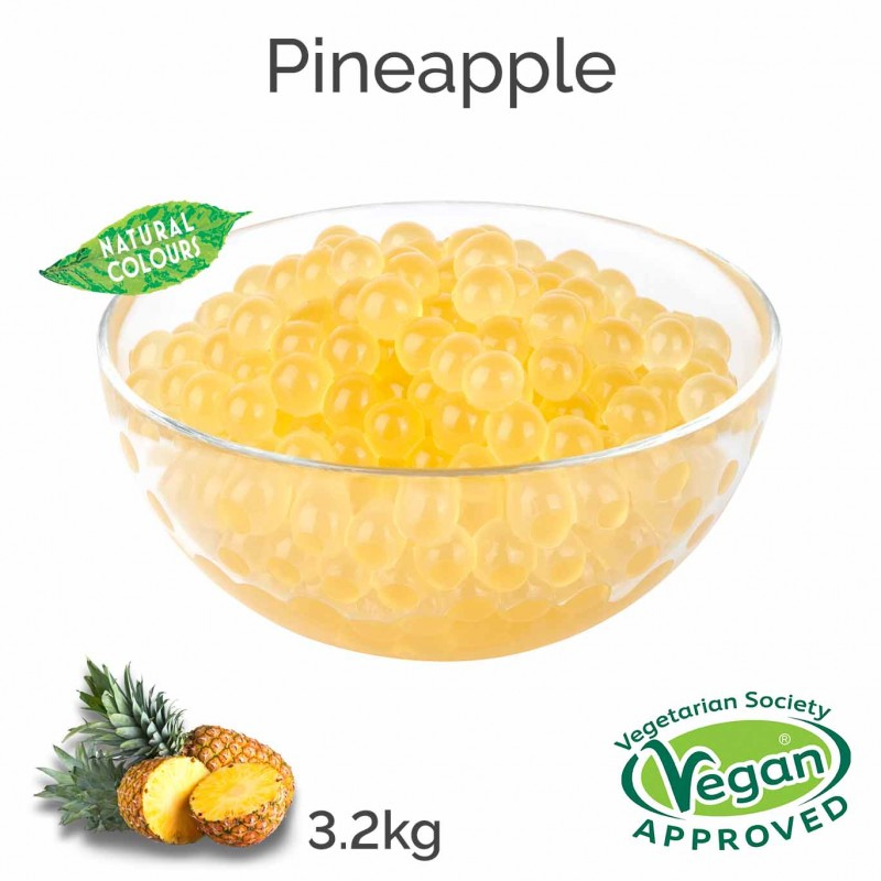 Natural Pineapple Juice Balls (3.2kg tub)