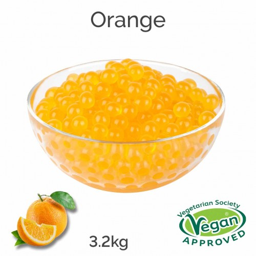 Orange Flavoured Juice Balls (AC)  (3.2kg tub)