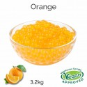 Orange Flavoured Juice Balls (AC)  (3.2kg tub)