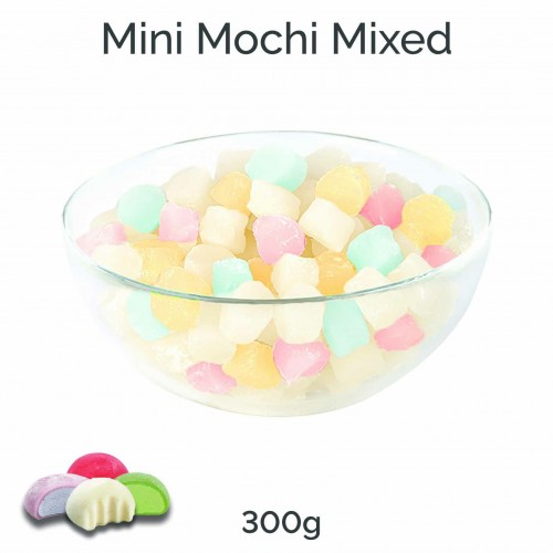 Mini Mochi - Mixed Flavours (300g pack)