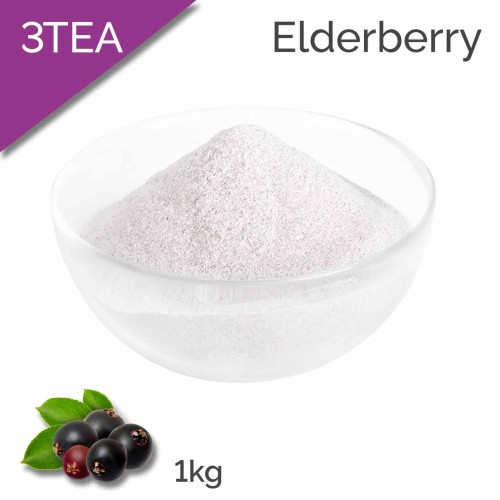 3TEA Elderberry Tea Flavoured Powder (1kg bag)