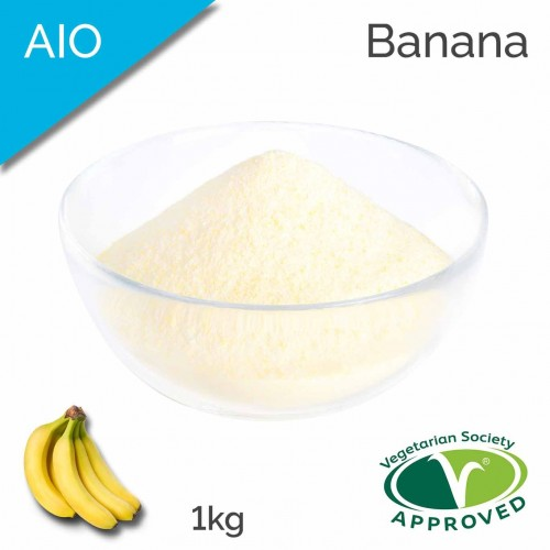 AIO Banana Flavoured Powder (1kg bag)