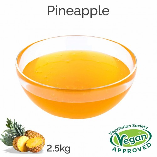 Pineapple Flavoured Syrup (2.5kg bottle)