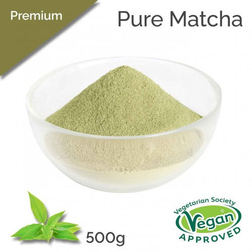 Premium - Pure Matcha (500g bag)