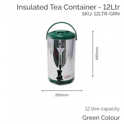 12 Ltr - Insulated Tea Container (1 pc)