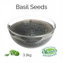 Basil Seeds (3.3kg) (BBD 03 Nov 2021)