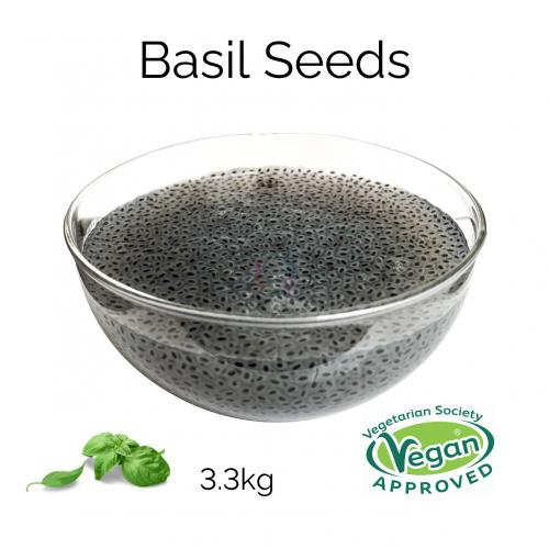 Basil Seeds (3.3kg)