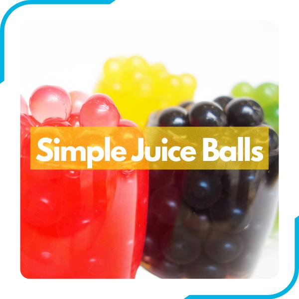Simple Range Juice Balls