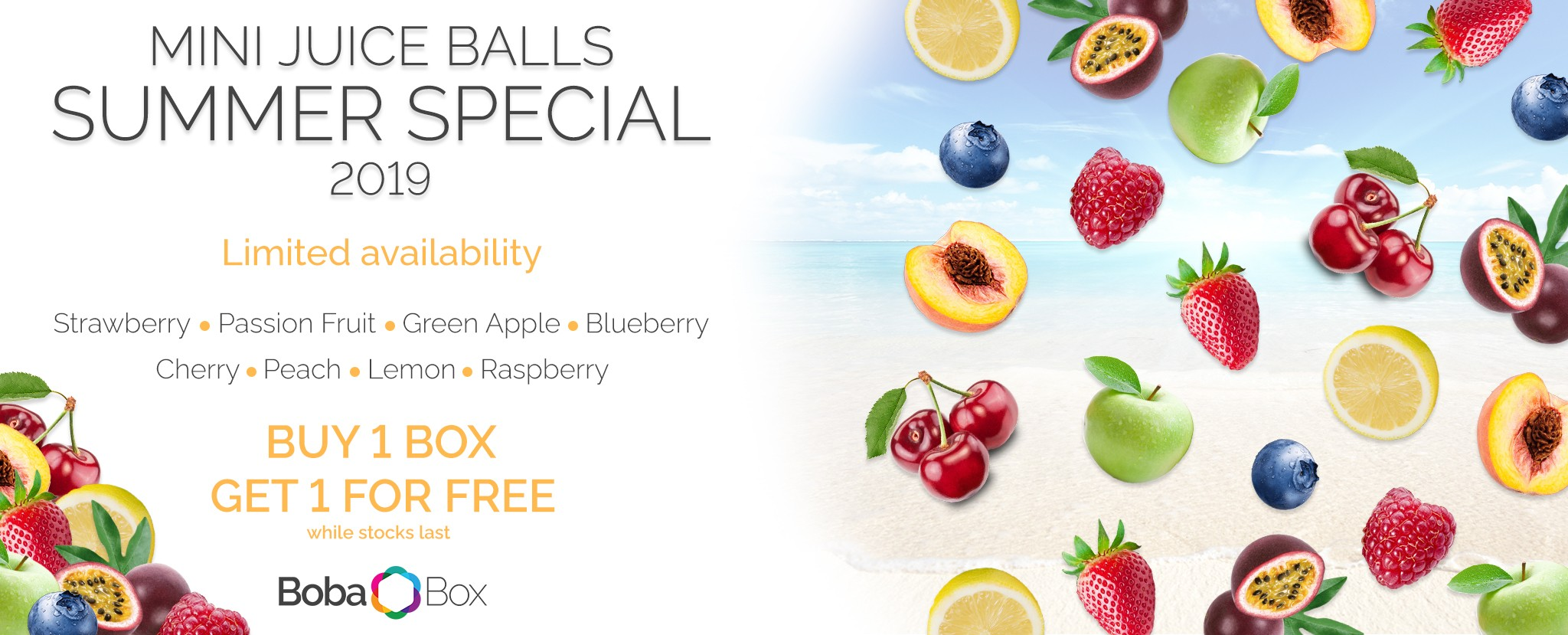 6-8mm mini Juice Balls Summer promotion
